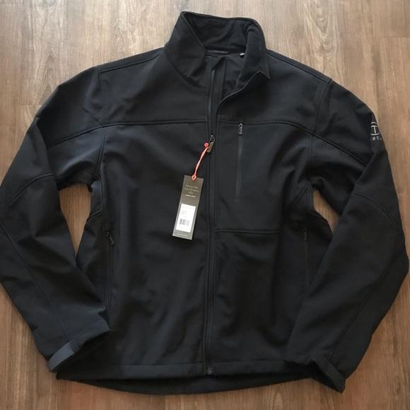 Tumi Other - Tumi T-Tech Black Jacket Sz L NEW